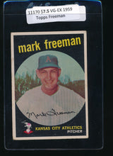 Load image into Gallery viewer, Scan of 1959 Topps 532 Mark Freeman VG-EX