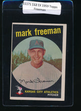 Load image into Gallery viewer, Scan of 1959 Topps 532 Mark Freeman EX
