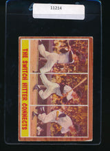 Load image into Gallery viewer, Scan of 1962 Topps 318  Mickey Mantle IA VG-EX