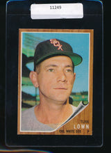 Load image into Gallery viewer, Scan of 1962 Topps 528  Turk Lown EX-MT