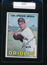 Load image into Gallery viewer, Scan of 1967 Topps 60 Luis Aparicio EX