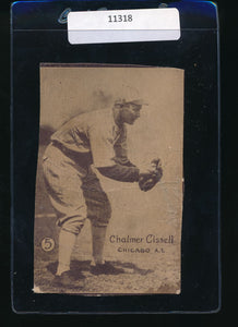 Scan of 1937 W517 Strip Card  Chalmer Bill Cissell P