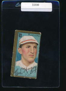 Scan of 1911 t205 Gold Border  Buck Herzog G
