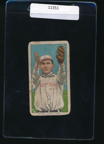 Scan of 1909-1911 T206   Jake Stahl P