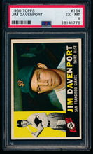 Load image into Gallery viewer, Scan of 1960 Topps 154 Jim Davenport PSA 6 EX-MT