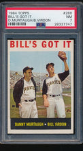 Load image into Gallery viewer, Scan of 1964 Topps 268  Bill's Got It PSA 7 NM