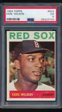 Load image into Gallery viewer, Scan of 1964 Topps 503  Earl Wilson PSA 5 EX