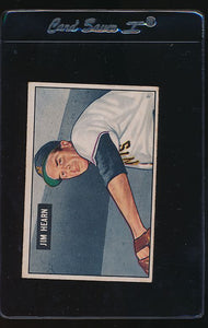 Scan of 1951 Bowman 61  Jim Hearn  VG