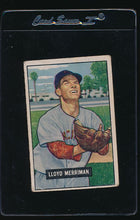 Load image into Gallery viewer, Scan of 1951 Bowman 72 Lloyd Merriman G