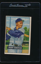 Load image into Gallery viewer, Scan of 1951 Bowman 95 Sherry Robertson VG-EX