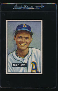 Scan of 1951 Bowman 119 Eddie Joost EX