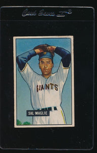 Scan of 1951 Bowman 127 Sal Maglie G