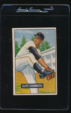 Load image into Gallery viewer, Scan of 1951 Bowman 131 Cliff Chambers G