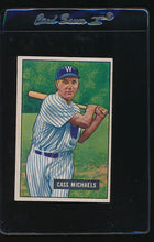 Load image into Gallery viewer, Scan of 1951 Bowman 132 Cass Michaels EX