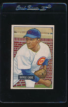 Load image into Gallery viewer, Scan of 1951 Bowman 139 Doyle Lade VG