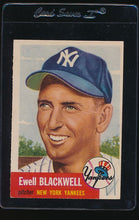 Load image into Gallery viewer, Scan of 1953 Topps 31 Ewell Blackwell EX