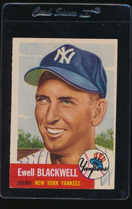 Scan of 1953 Topps 31 Ewell Blackwell EX