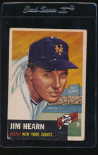 Load image into Gallery viewer, Scan of 1953 Topps 38 Jim Hearn G