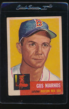 Load image into Gallery viewer, Scan of 1953 Topps 63 Gus Niarhos VG-EX