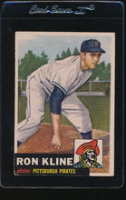 Load image into Gallery viewer, Scan of 1953 Topps 175 Ron Kline VG-EX