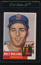 Load image into Gallery viewer, Scan of 1953 Topps 280 Milt Bolling G/VG