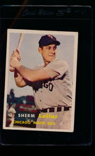 Load image into Gallery viewer, Scan of 1957 Topps 23 Sherm Lollar VG-EX