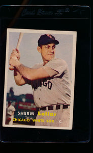 Scan of 1957 Topps 23 Sherm Lollar VG-EX