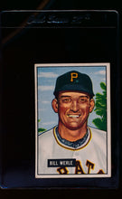 Load image into Gallery viewer, Scan of 1951 Bowman 64 Bill Werle  G/VG