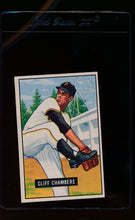 Load image into Gallery viewer, Scan of 1951 Bowman 131 Cliff Chambers  EX-MT