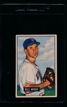 Load image into Gallery viewer, Scan of 1951 Bowman 164 Bill Wight  VG