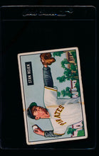 Load image into Gallery viewer, Scan of 1951 Bowman 166 Stan Rojek  VG