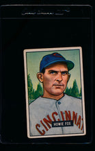 Load image into Gallery viewer, Scan of 1951 Bowman 180 Howie Fox  VG