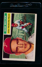 Load image into Gallery viewer, Scan of 1956 Topps 334 Bob Miller G/VG