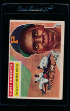 Load image into Gallery viewer, Scan of 1956 Topps 306 Curt Roberts VG-EX