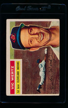 Load image into Gallery viewer, Scan of 1956 Topps 300 Vic Wertz VG