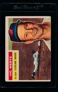 Scan of 1956 Topps 300 Vic Wertz VG