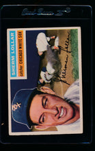 Load image into Gallery viewer, Scan of 1956 Topps 243 Sherm Lollar G/VG