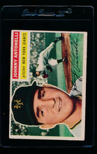 Load image into Gallery viewer, Scan of 1956 Topps 138 Johnny Antonelli VG-EX