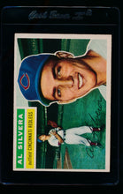 Load image into Gallery viewer, Scan of 1956 Topps 137 Al Silvera VG-EX