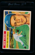 Load image into Gallery viewer, Scan of 1956 Topps 52 Bob Grim G/VG