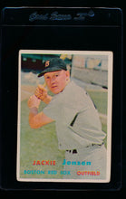Load image into Gallery viewer, Scan of 1957 Topps 220 Jackie Jensen VG