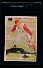 Load image into Gallery viewer, Scan of 1957 Topps 222 Alex Grammas VG