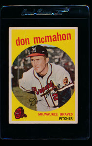 Scan of 1959 Topps 3 Don McMahon EX