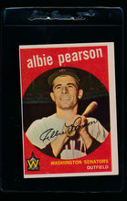 Load image into Gallery viewer, Scan of 1959 Topps 4 Albie Pearson EX