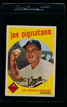 Load image into Gallery viewer, Scan of 1959 Topps 16 Joe Pignatano VG