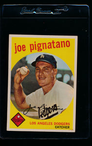 Scan of 1959 Topps 16 Joe Pignatano VG