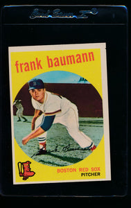 Scan of 1959 Topps 161 Frank Baumann NM (OC)