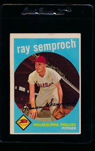 Scan of 1959 Topps 197 Ray Semproch EX
