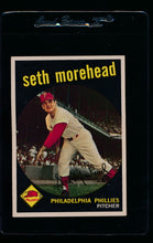 Load image into Gallery viewer, Scan of 1959 Topps 253 Seth Morehead G