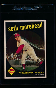 Scan of 1959 Topps 253 Seth Morehead G